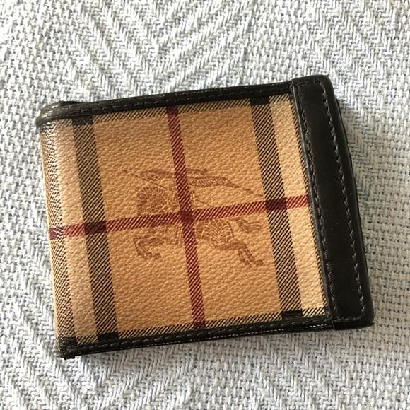 Burberry Handbags - Authentic Burberry Wallet (Men's)